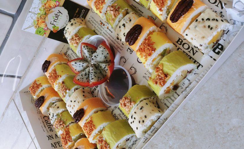 סושי פירות ושוקולד ~ פרוטי סטייל
